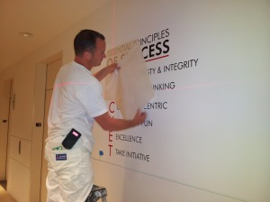Vinyl Lettering Installation Orange County CA